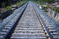 Rail way tracks .