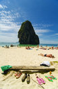Railay beach Royalty Free Stock Photos