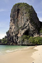Railay beach karst krabi thailand Stock Photos