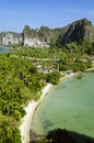 Railay peninsula Stock Photo