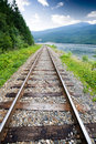 Railraod Tracks Royalty Free Stock Photography