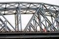 Railroad bridge outdoor Royalty Free Stock Photo