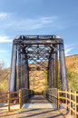 Railroad Bridge Over Iron Hors...