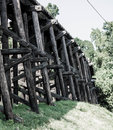 Railroad Bridge Royalty Free Stock Photo