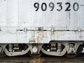 Railroad car details Royalty Free Stock Photo