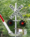 Railroad Crossing Stock Images