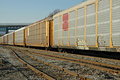 Railroad Freight Train Royalty Free Stock Photos