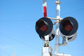 Railroad Lights Royalty Free Stock Photo