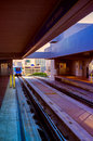 Railroad station in downtown miami miami florida usa Stock Photos