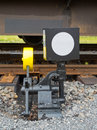 Railroad switch Royalty Free Stock Image