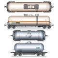 Railroad Tank Car Royalty Free Stock Photography