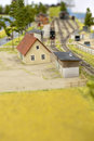 Railroad - toy Stock Photo