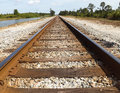Railroad Tracks Royalty Free Stock Photo