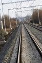 Rails Stock Photography