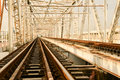 Railway Bridge Royalty Free Stock Images