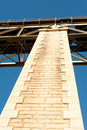 Railway bridge detail Royalty Free Stock Photography
