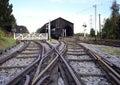 Railway Junction Stock Photography