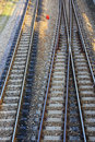 Railway and siding Royalty Free Stock Image