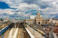 The railway station Brest Royalty Free Stock Photo