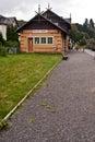 Railway station on Kurort Oybin Royalty Free Stock Photo