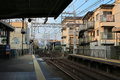 Railway Station in Kyoto , Japan Royalty Free Stock Photo