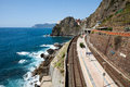 Railway station of Manarola Stock Photography