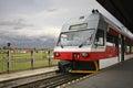 Railway station in Poprad.  Slovakia