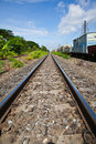 Railway in Thailand Stock Photos