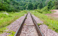 Railway thailand in the north of Stock Image