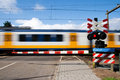 Railway train Royalty Free Stock Photos