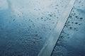 Rain, autumn day Royalty Free Stock Photo