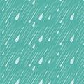 Rain Background Pattern Royalty Free Stock Photo