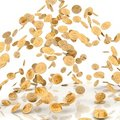 Rain from coins Royalty Free Stock Photo