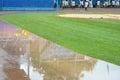 Rain Delay Royalty Free Stock Photo