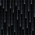 Rain of dots Stock Photo
