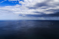 Rain front moving in Royalty Free Stock Photo