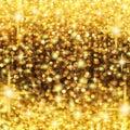 Rain of Lights Christmas Royalty Free Stock Photo