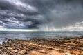 Rain Squall Royalty Free Stock Photo