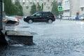 Lluvia agua durante