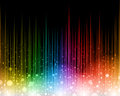Rainbow abstract background a colourful light filled Stock Photography