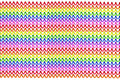 Rainbow background of colorful telephone cables Royalty Free Stock Photo