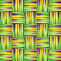 Rainbow Background with Lines and Stripe Royalty Free Stock Photo