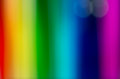 Rainbow background with soft blurred stripes Royalty Free Stock Photo