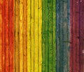 Rainbow background Wood Panel Royalty Free Stock Photo