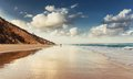 Rainbow Beach Royalty Free Stock Photo
