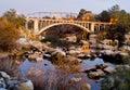 Rainbow Bridge In Folsom Calif...