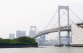 Rainbow Bridge, Tokyo Royalty Free Stock Photo