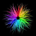 Rainbow Burst Royalty Free Stock Photo
