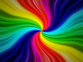 Rainbow burst background Stock Photography