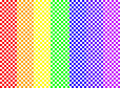 Rainbow Checkerboard Royalty Free Stock Image
